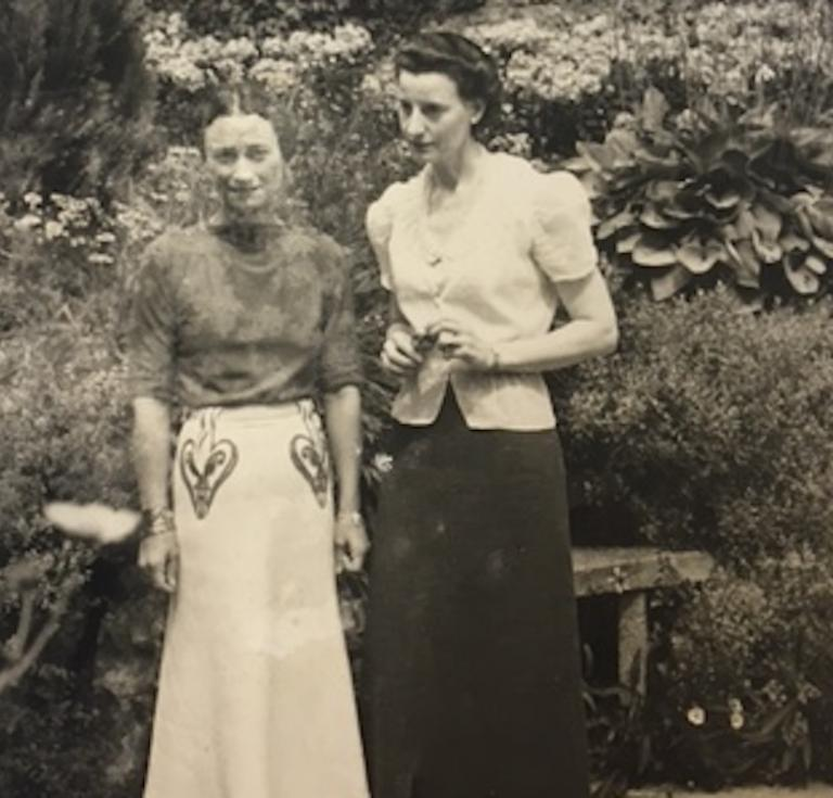Photo of Wallis Simpson, Duchess of Windsor, and Fern Bedaux.